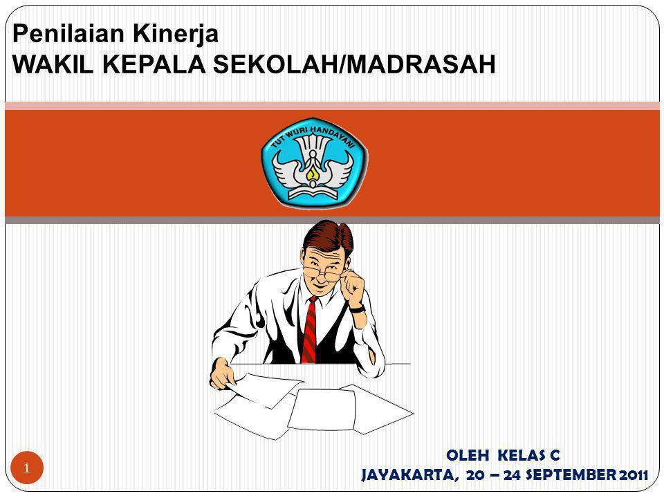 Penilaian Kinerja WAKIL KEPALA SEKOLAH/MADRASAH