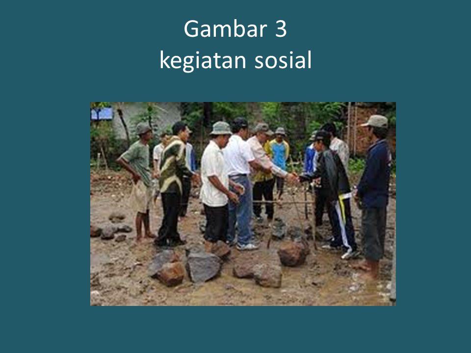 Gambar 3 kegiatan sosial