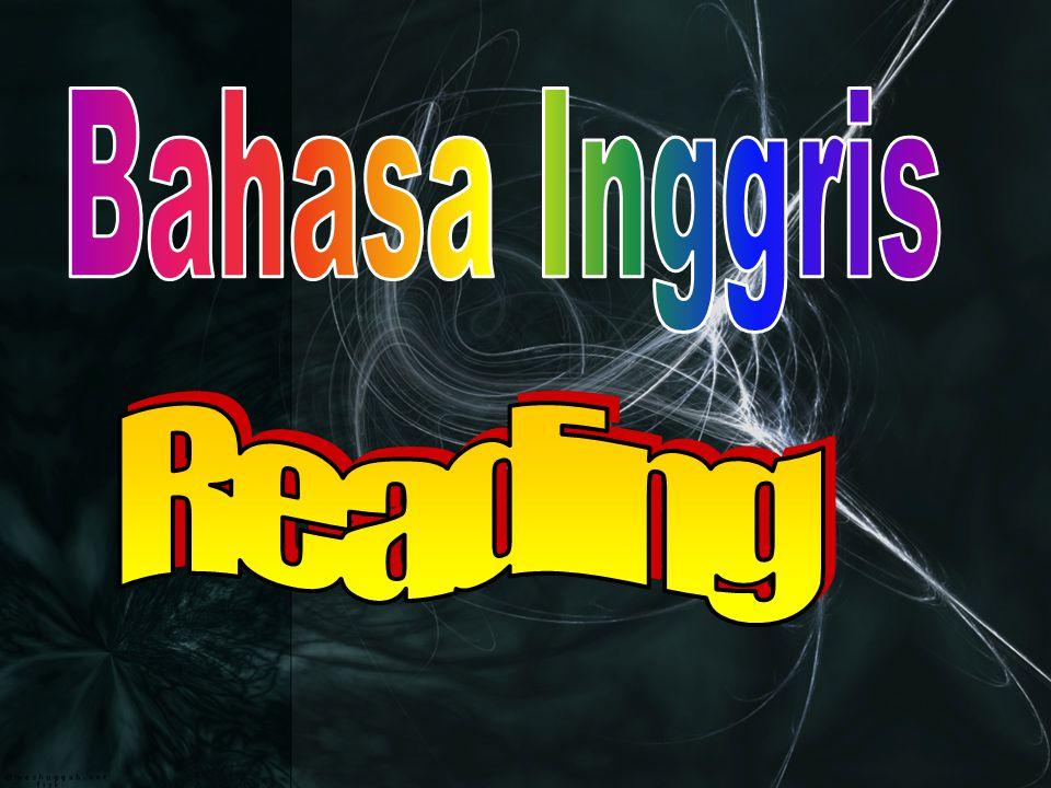 Bahasa Inggris Reading