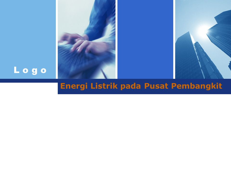 Energi Listrik pada Pusat Pembangkit