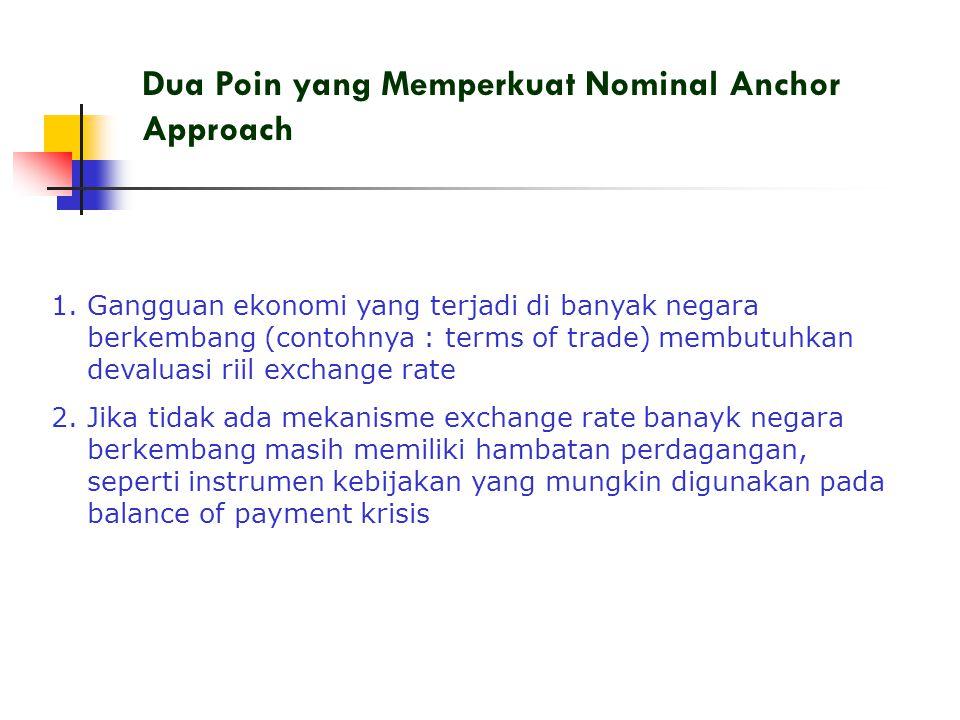 Dua Poin yang Memperkuat Nominal Anchor Approach