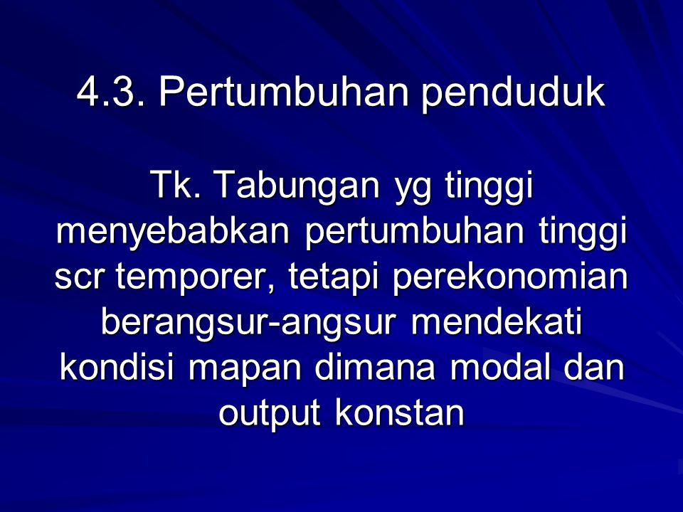 4. 3. Pertumbuhan penduduk Tk