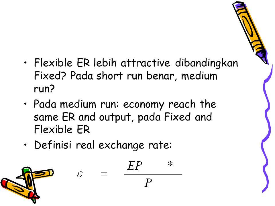 Flexible ER lebih attractive dibandingkan Fixed
