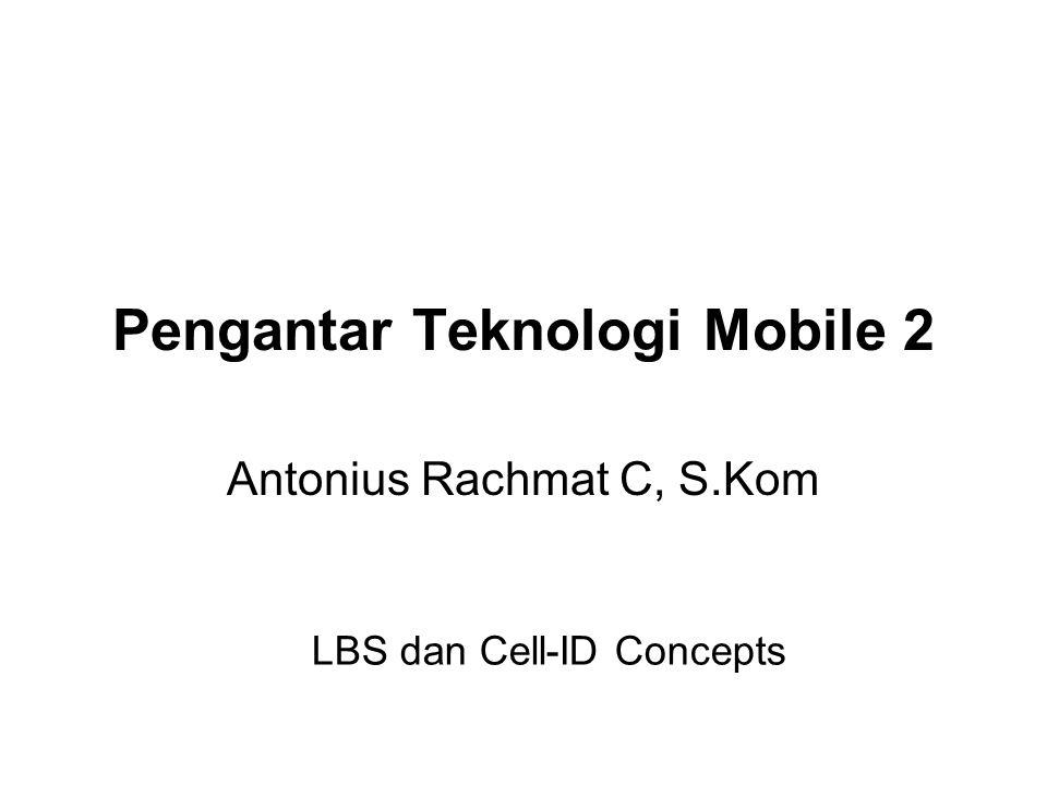 Pengantar Teknologi Mobile 2