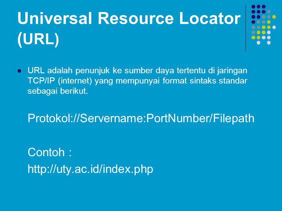 Universal Resource Locator (URL)
