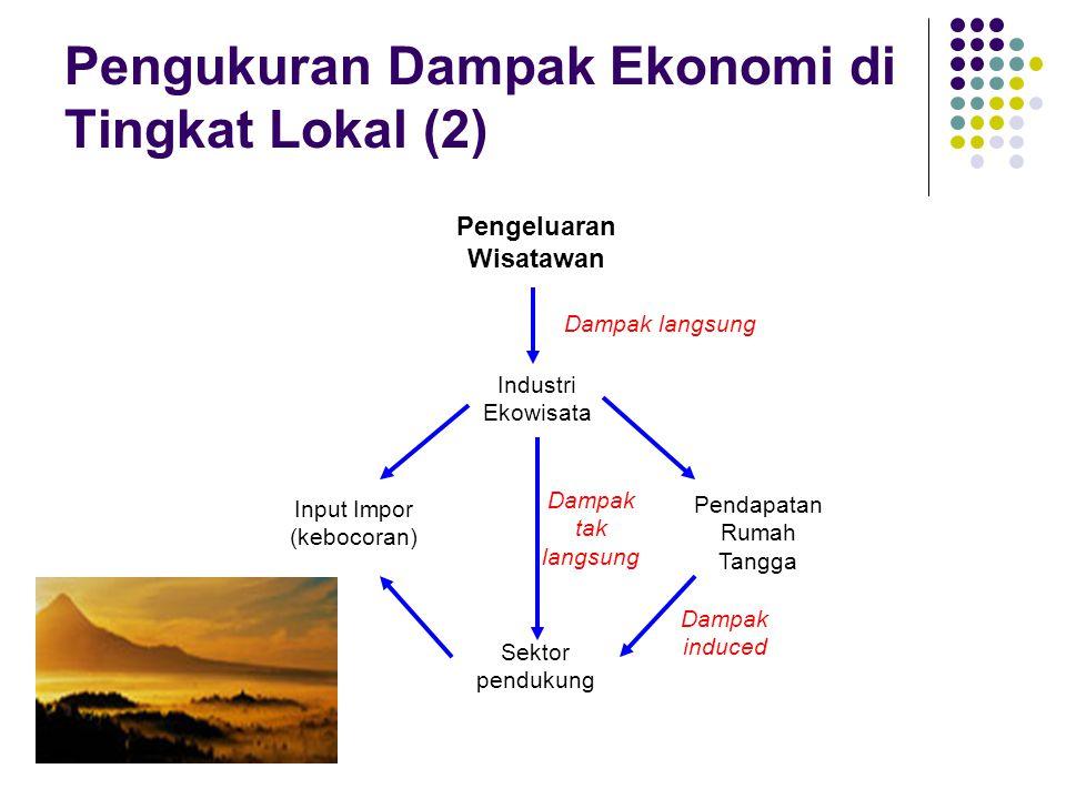 Pengukuran Dampak Ekonomi di Tingkat Lokal (2)