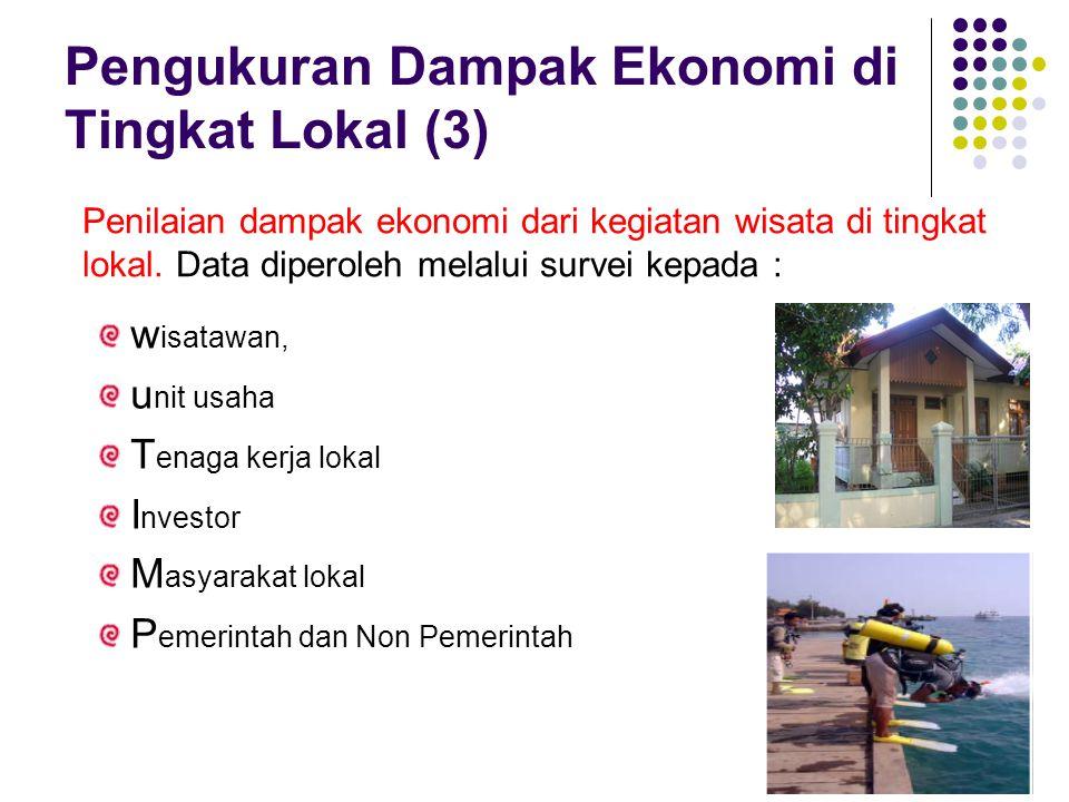Pengukuran Dampak Ekonomi di Tingkat Lokal (3)