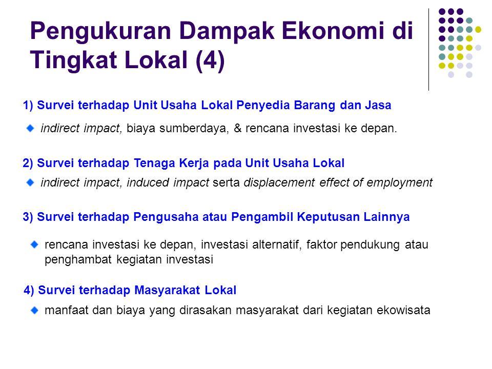 Pengukuran Dampak Ekonomi di Tingkat Lokal (4)