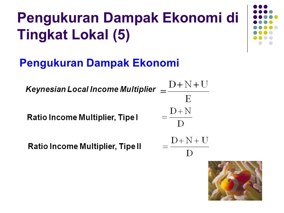 Pengukuran Dampak Ekonomi di Tingkat Lokal (5)