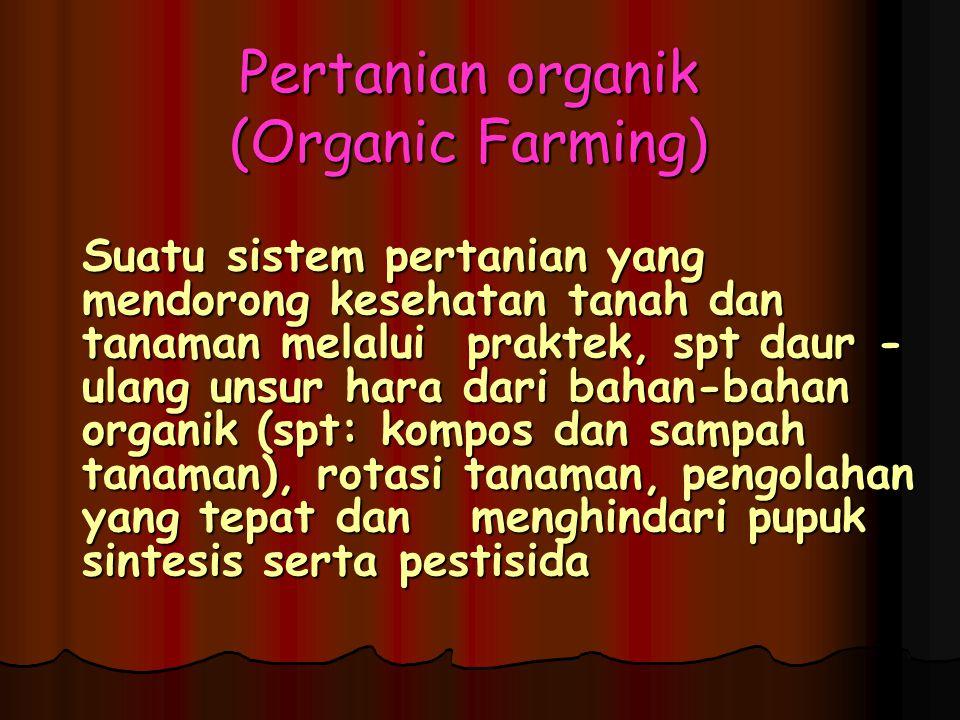 Pertanian organik (Organic Farming)