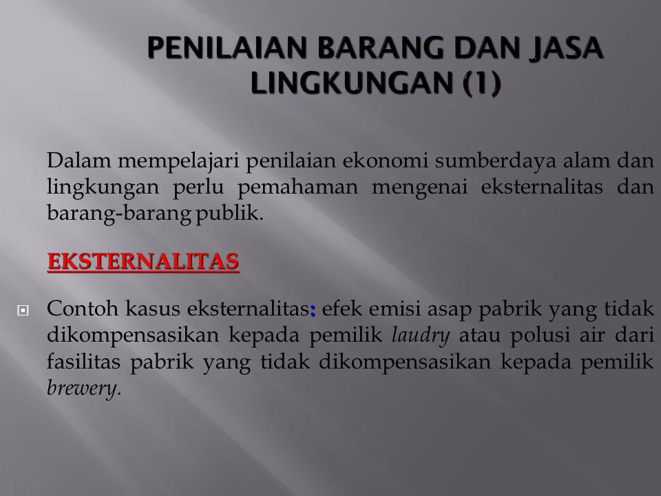 PENILAIAN BARANG DAN JASA LINGKUNGAN (1)
