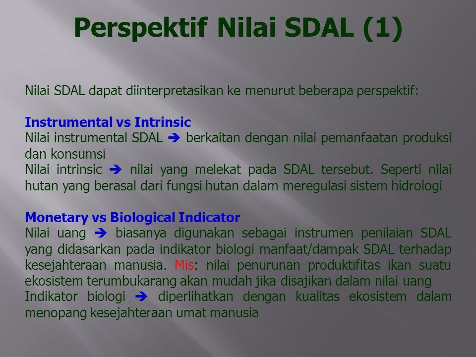 Perspektif Nilai SDAL (1)