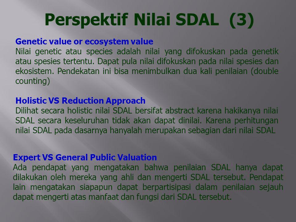 Perspektif Nilai SDAL (3)