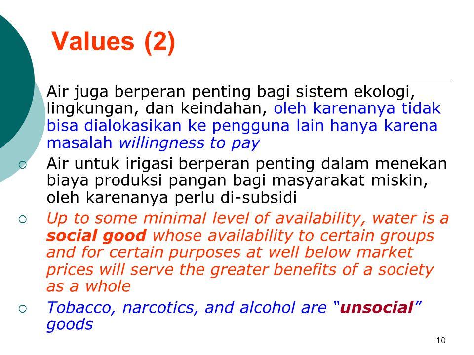 Values (2)