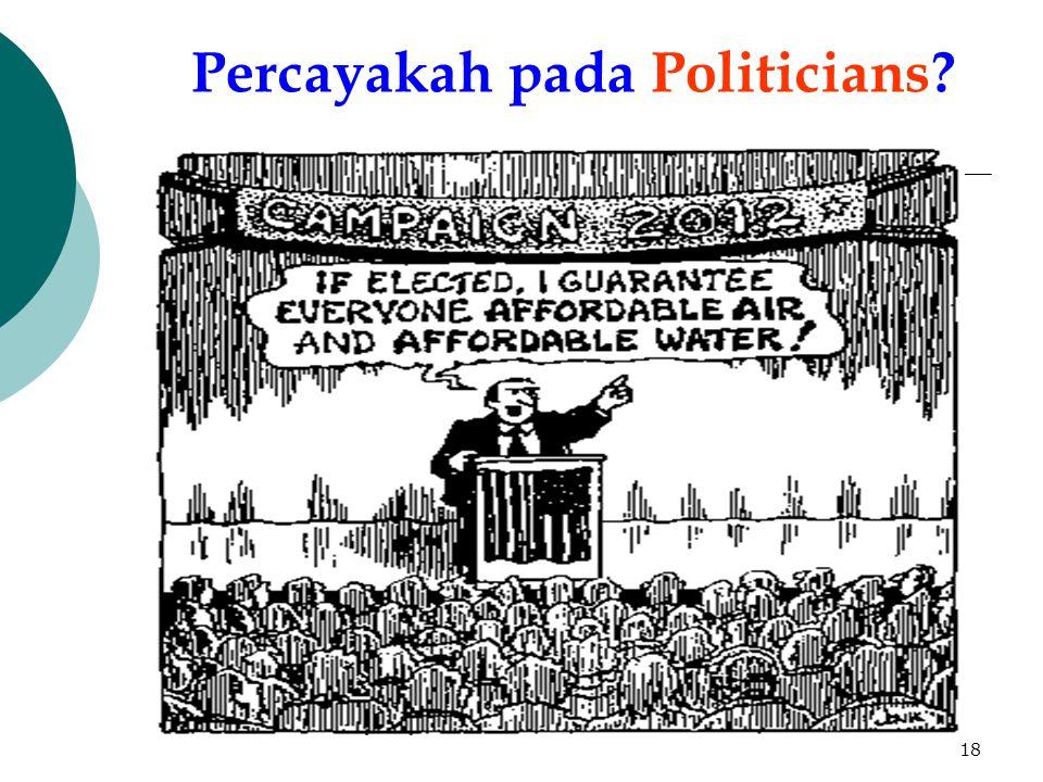 Percayakah pada Politicians
