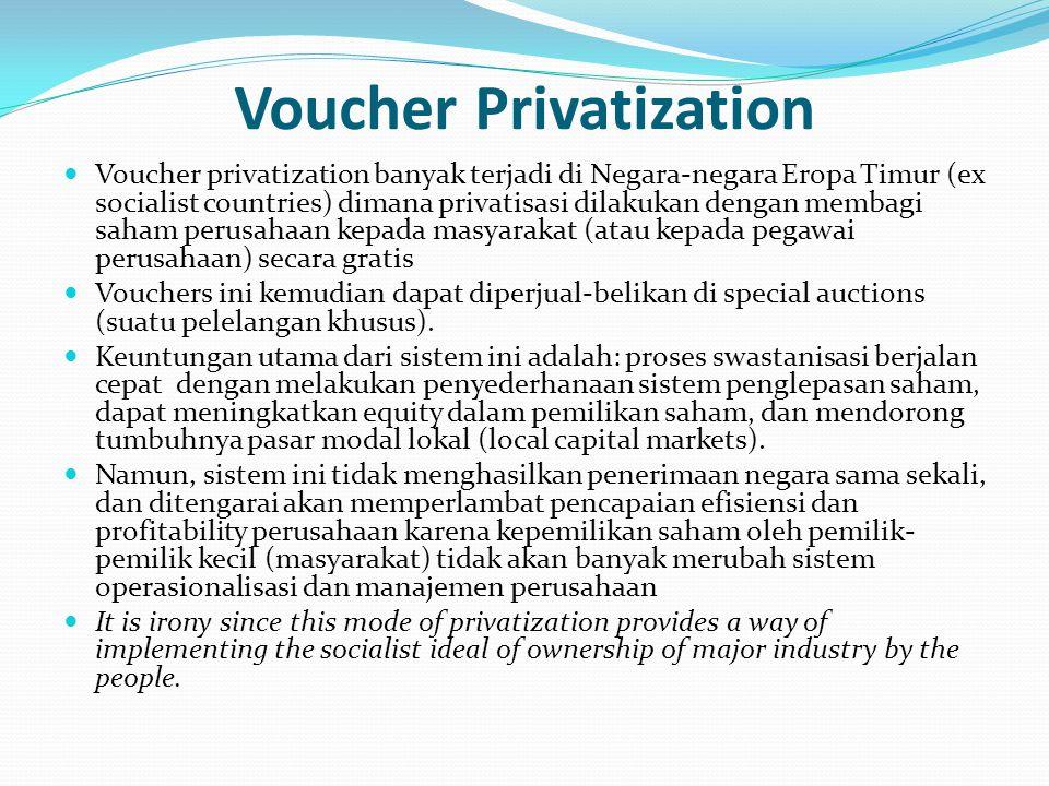 Voucher Privatization
