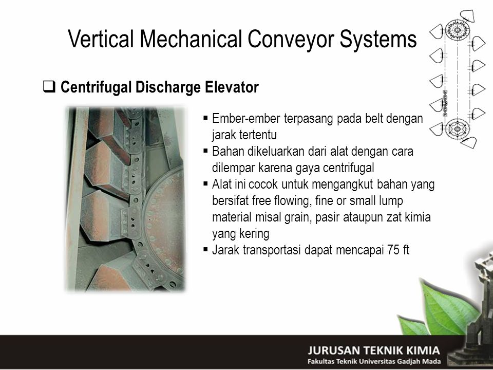 Vertical Mechanical Conveyor Systems