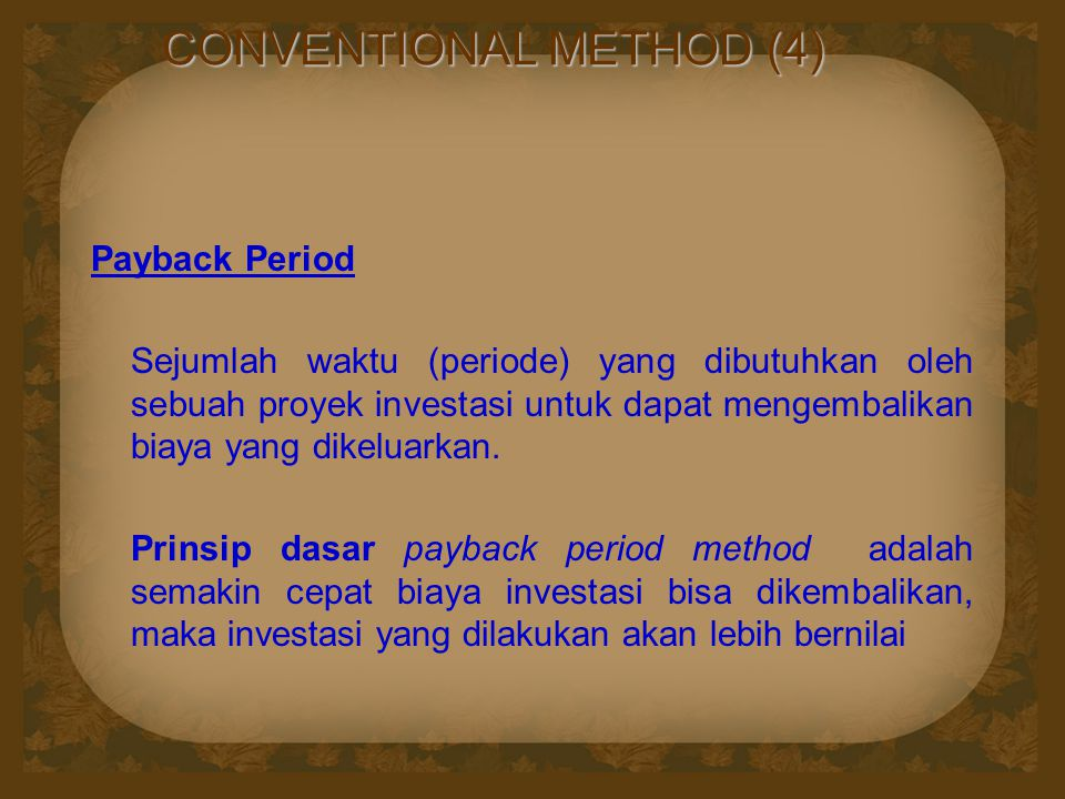 CONVENTIONAL METHOD (4)