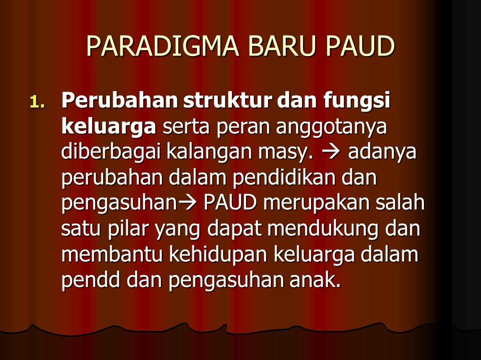PARADIGMA BARU PAUD