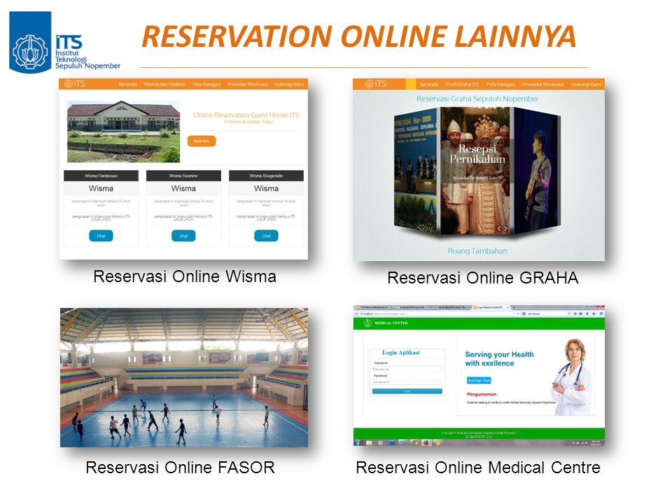 RESERVATION ONLINE LAINNYA