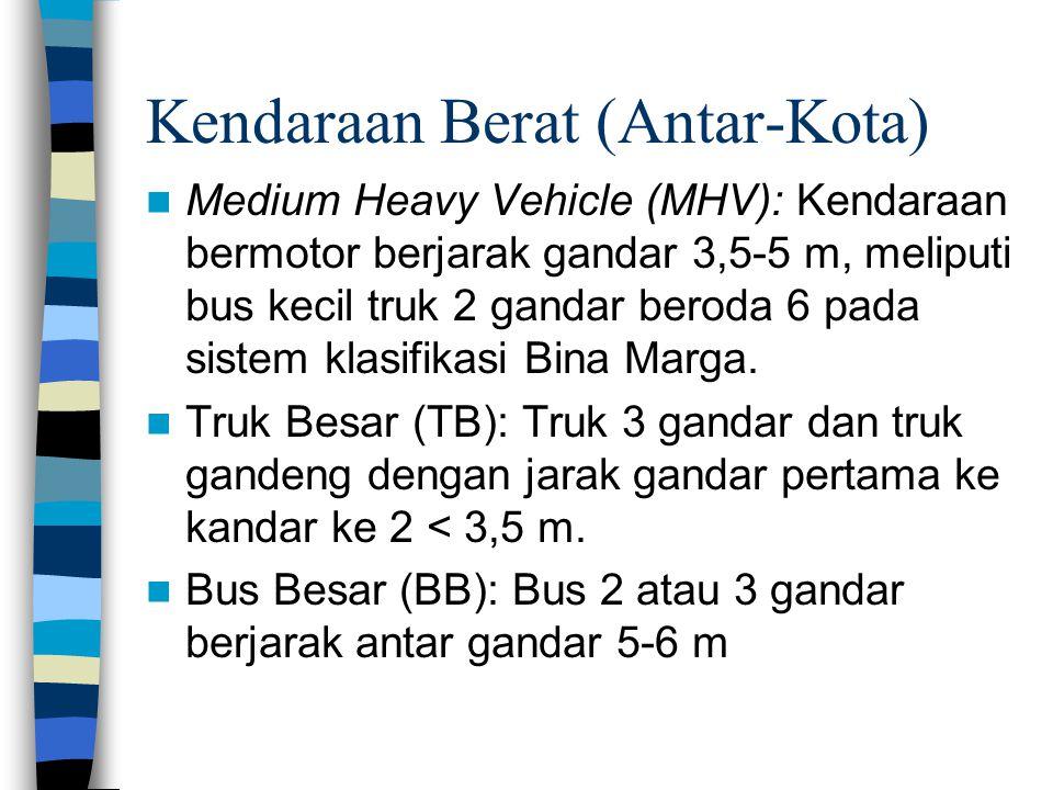 Kendaraan Berat (Antar-Kota)