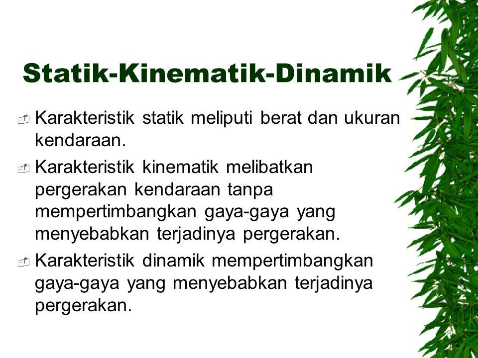 Statik-Kinematik-Dinamik