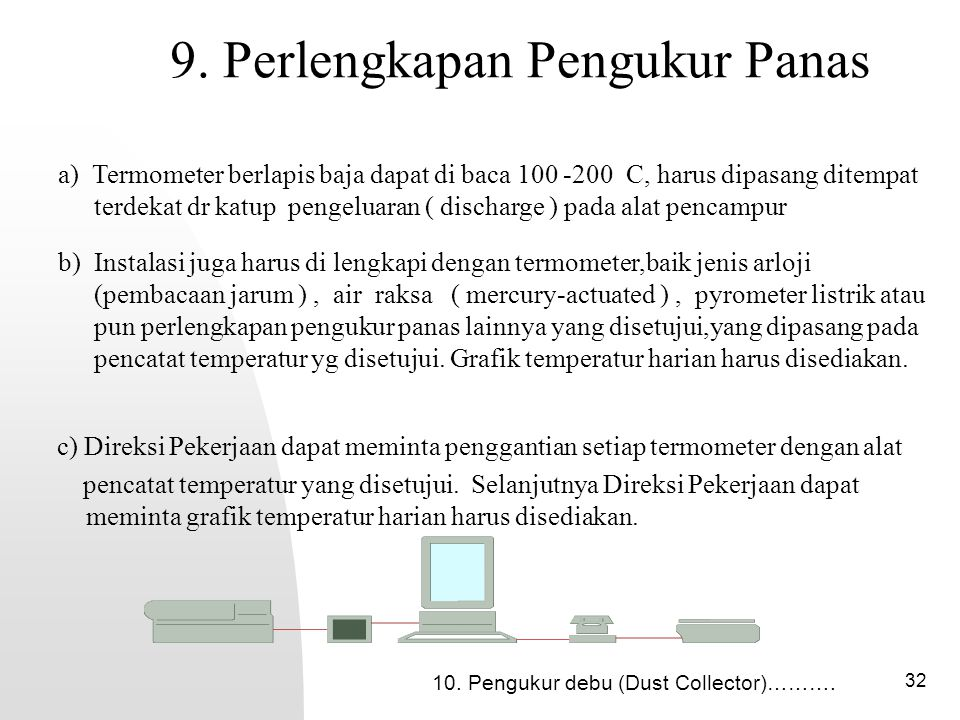 9. Perlengkapan Pengukur Panas