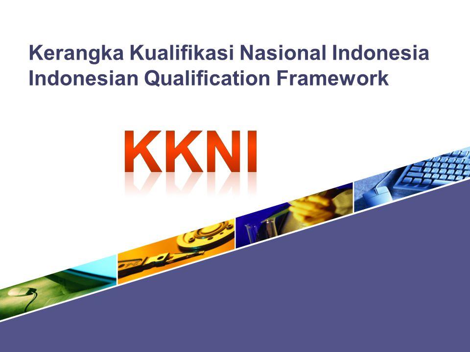 kkni Kerangka Kualifikasi Nasional Indonesia