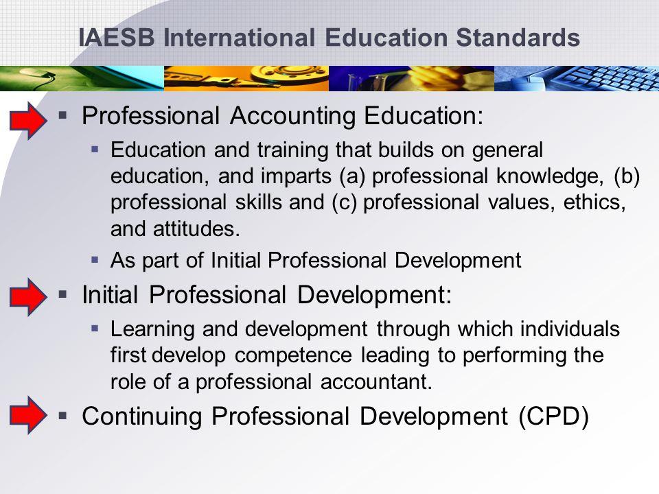 IAESB International Education Standards