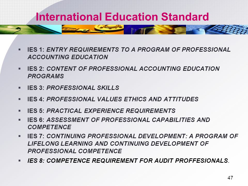 International Education Standard