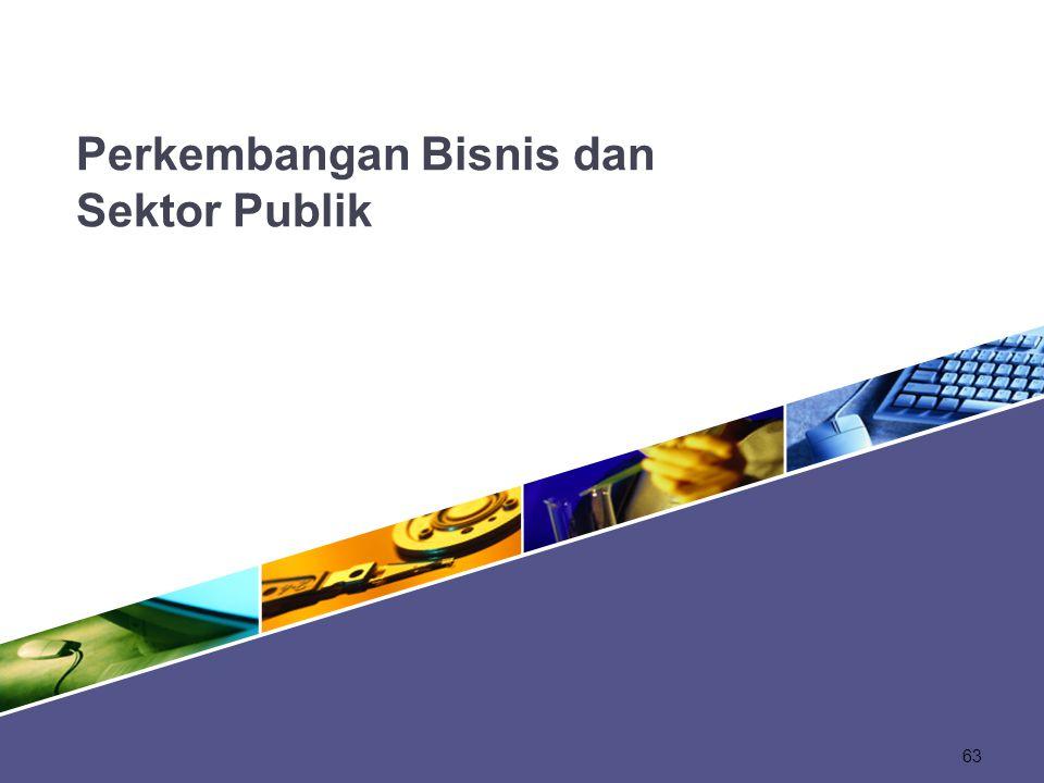 Perkembangan Bisnis dan Sektor Publik