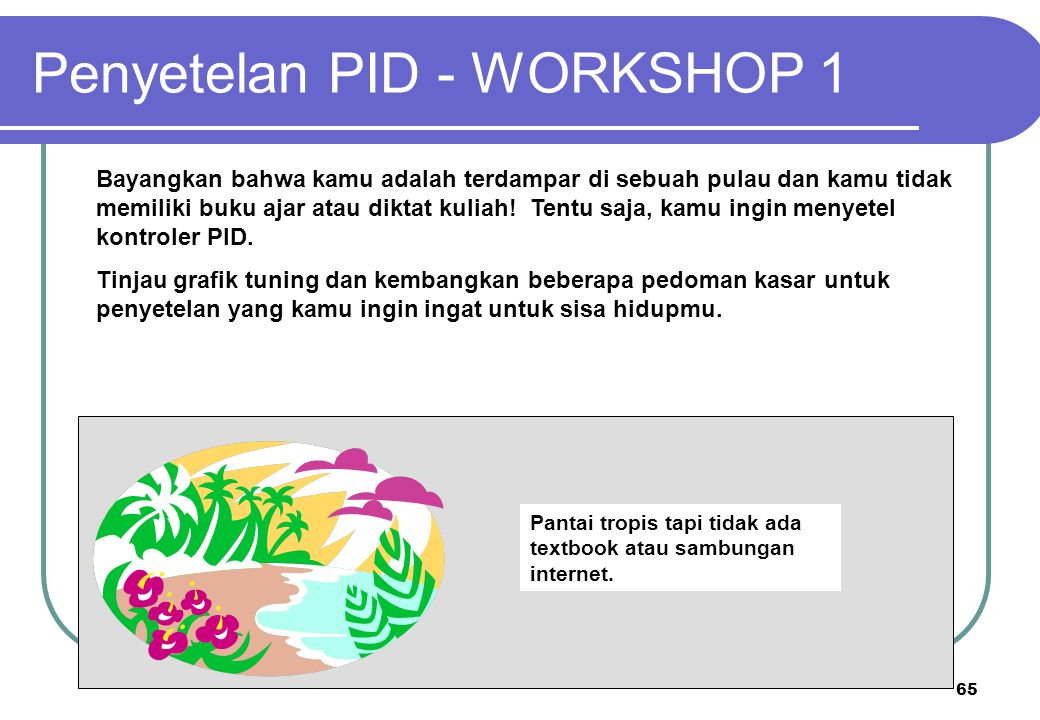 Penyetelan PID - WORKSHOP 1