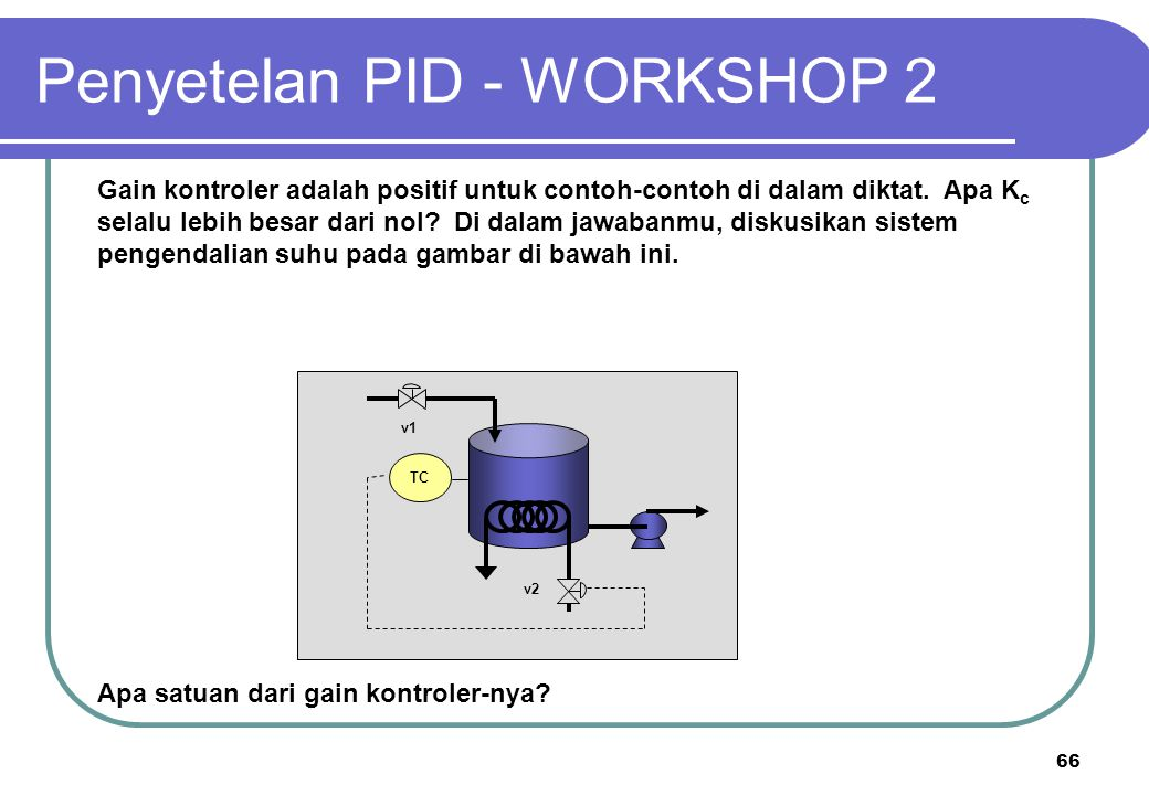 Penyetelan PID - WORKSHOP 2
