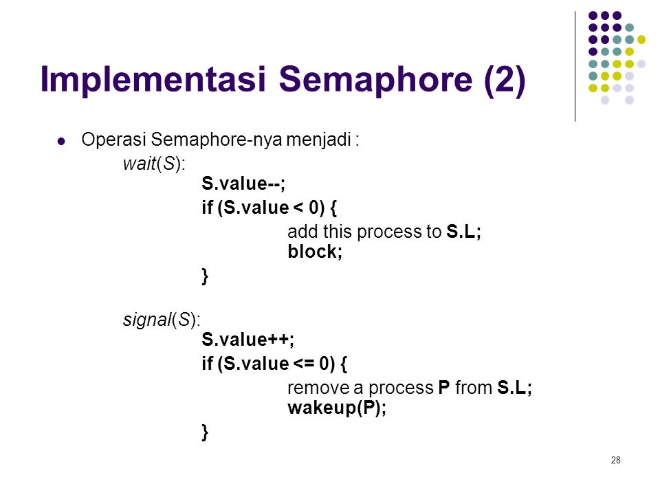 Implementasi Semaphore (2)
