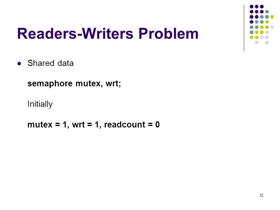 Readers-Writers Problem