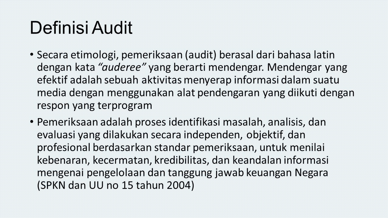 Definisi Audit