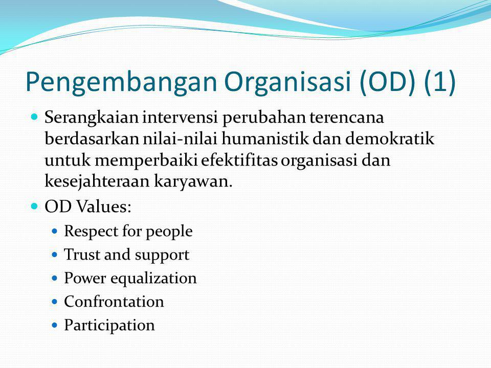 Pengembangan Organisasi (OD) (1)