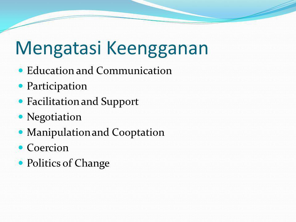 Mengatasi Keengganan Education and Communication Participation