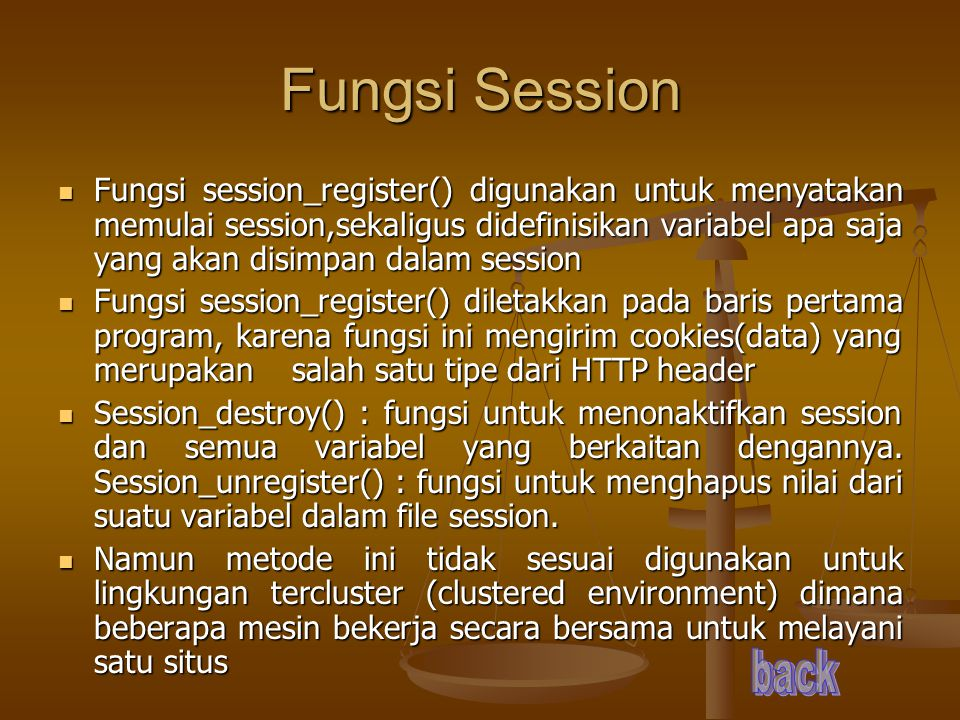 Fungsi Session