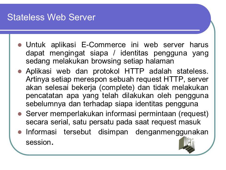 Stateless Web Server