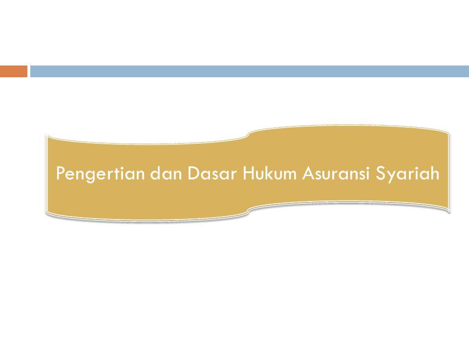 Pengertian dan Dasar Hukum Asuransi Syariah