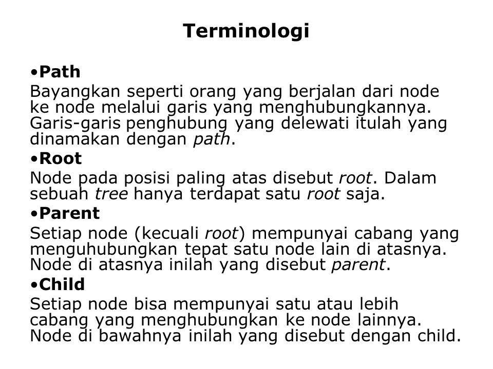 Terminologi Path.