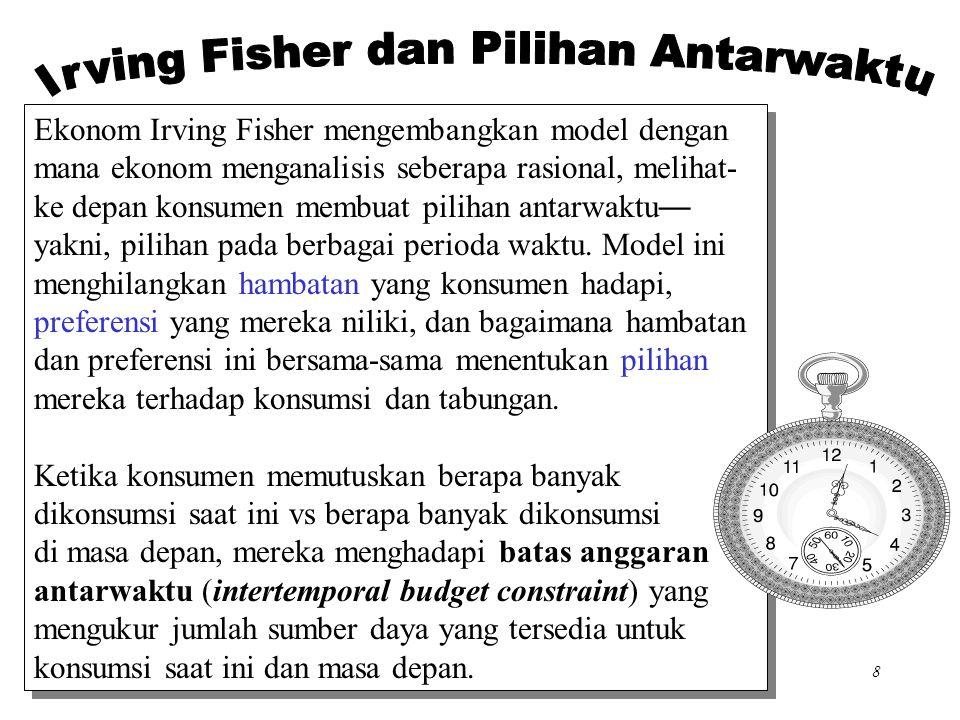 Irving Fisher dan Pilihan Antarwaktu