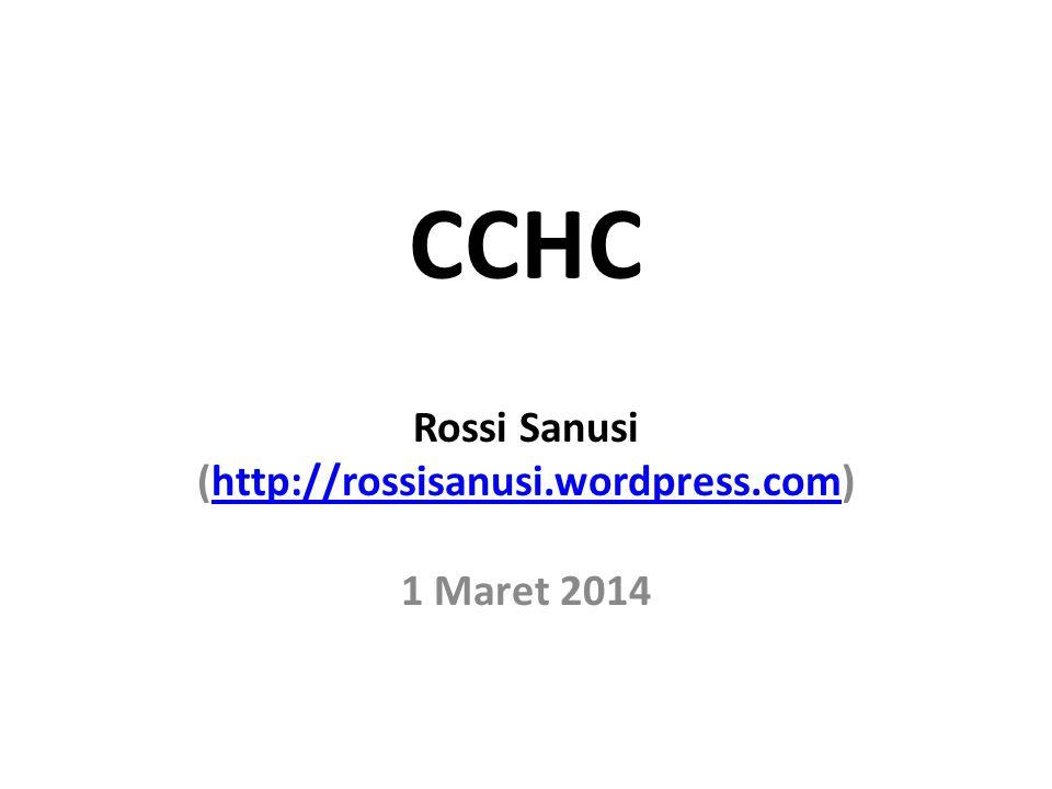 Rossi Sanusi (http://rossisanusi.wordpress.com) 1 Maret 2014
