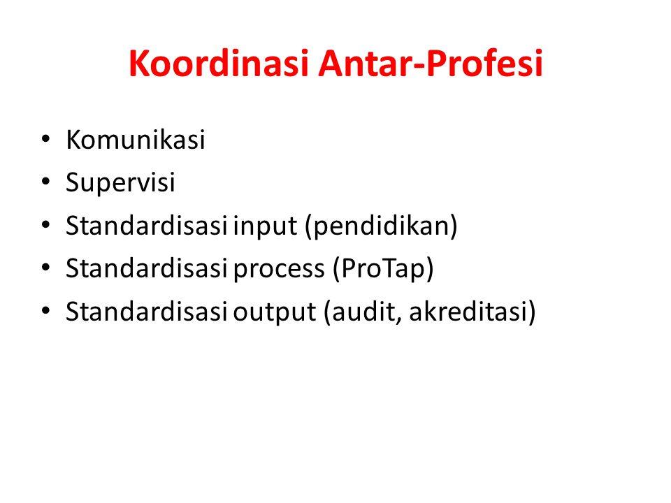 Koordinasi Antar-Profesi