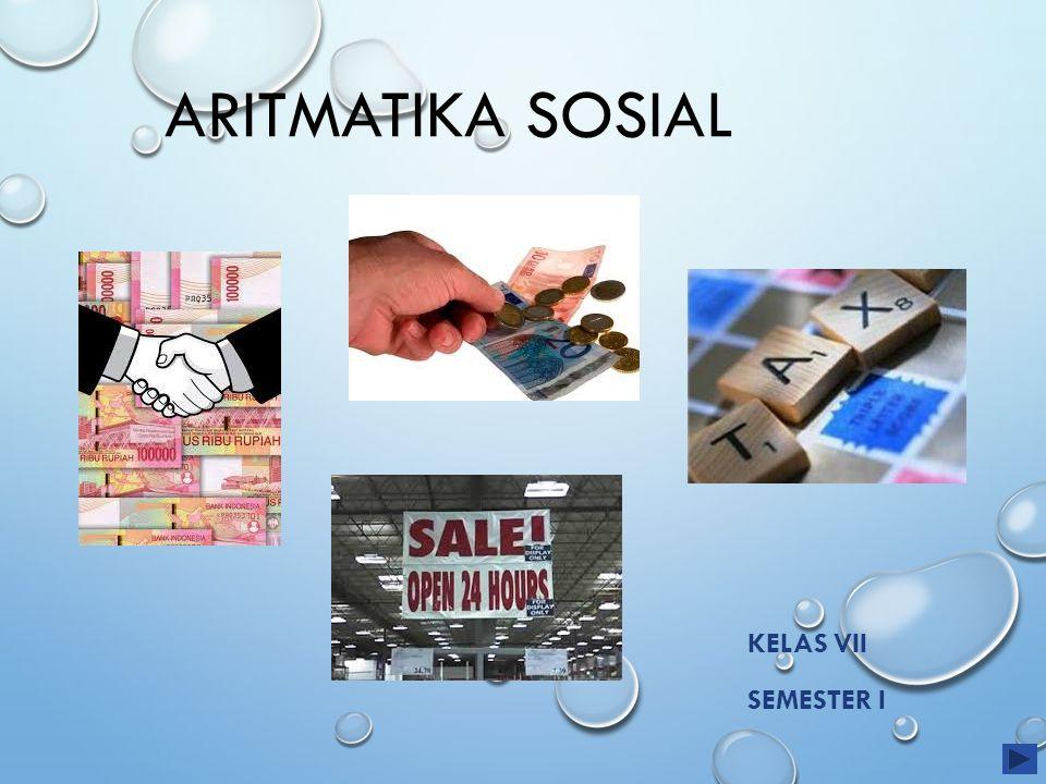 Aritmatika Sosial Kelas VII Semester I