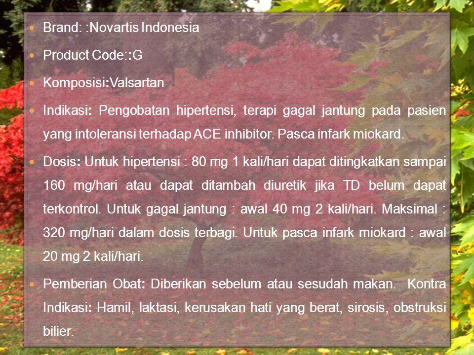Brand: :Novartis Indonesia