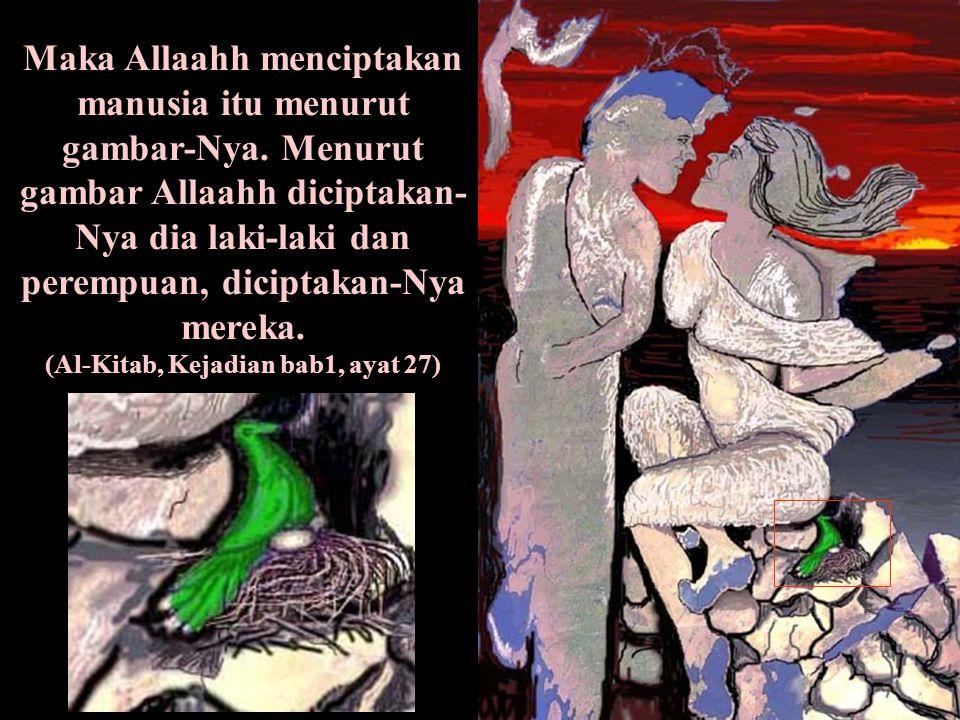(Al-Kitab, Kejadian bab1, ayat 27)
