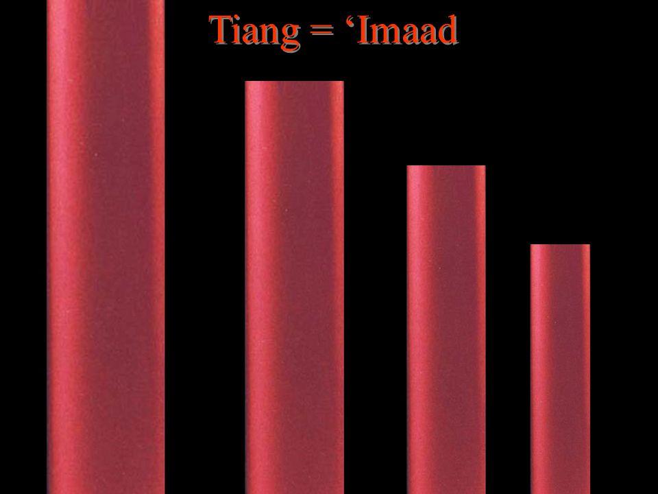 Tiang = 'Imaad