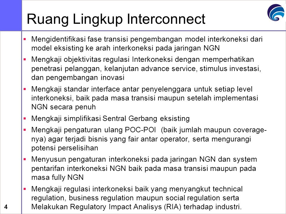Ruang Lingkup Interconnect